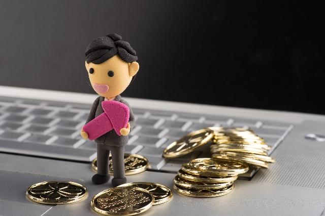 パソコン 収入