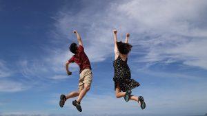 男性 女性 ジャンプ