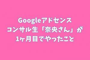 Googleアドセンス コンサル実績 コンサル生